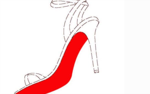 Red bottom shoe